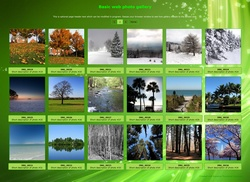 Basic web photo gallery