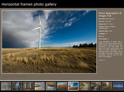 Horizontal frames photo gallery